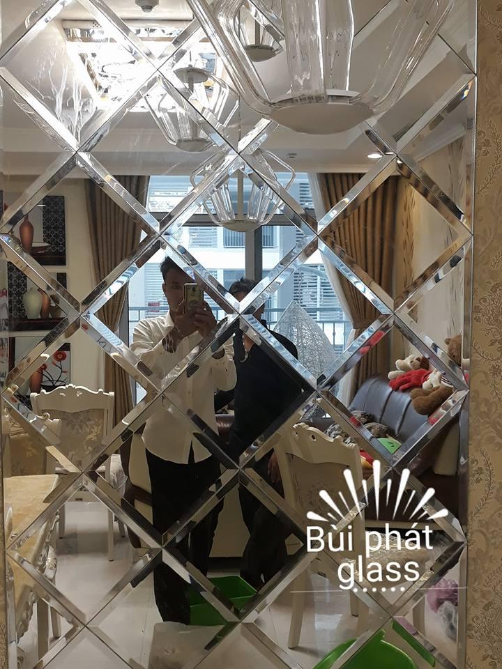 Lắp gương trang trí nghệ thuật chung cư VinCom Hồ Chí Minh