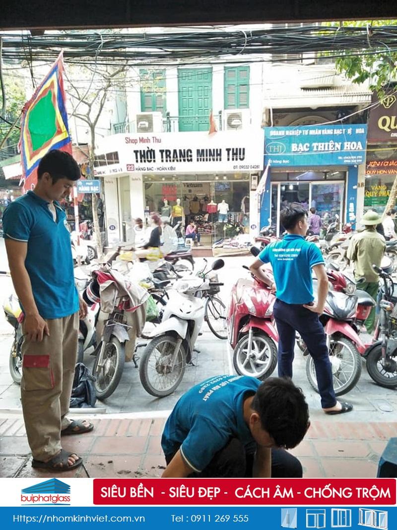 Công Trình Kính Tại Công Ty Mekong Plus Hàng Bạc