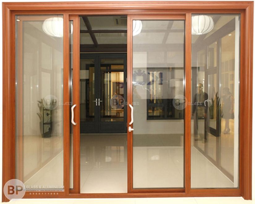 cửa khung nhôm, mẫu cửa nhôm kính đẹp,