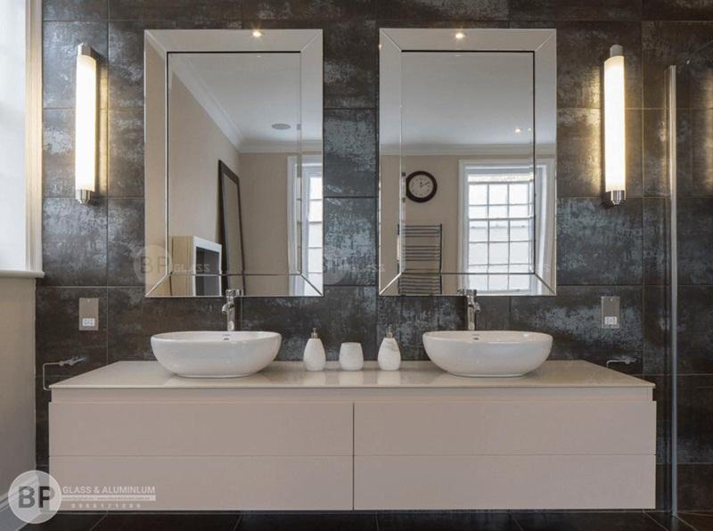 Lắp gương phòng tắm giá rẻ