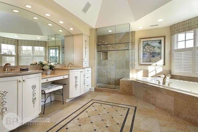 phòng tắm vách kính , vách kính ngăn phòng tắm