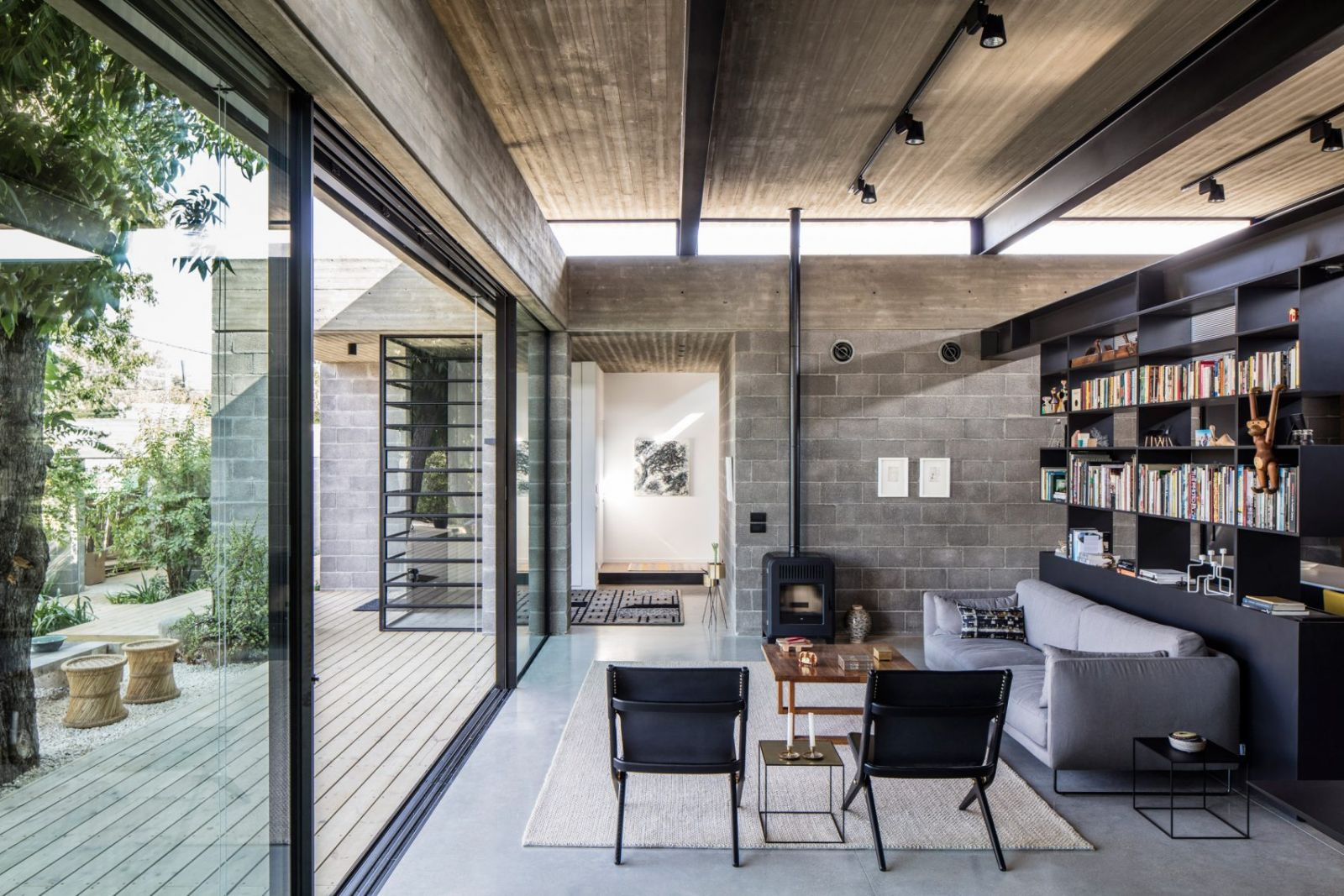 Nhà Bare của Jacobs-Yaniv Architects